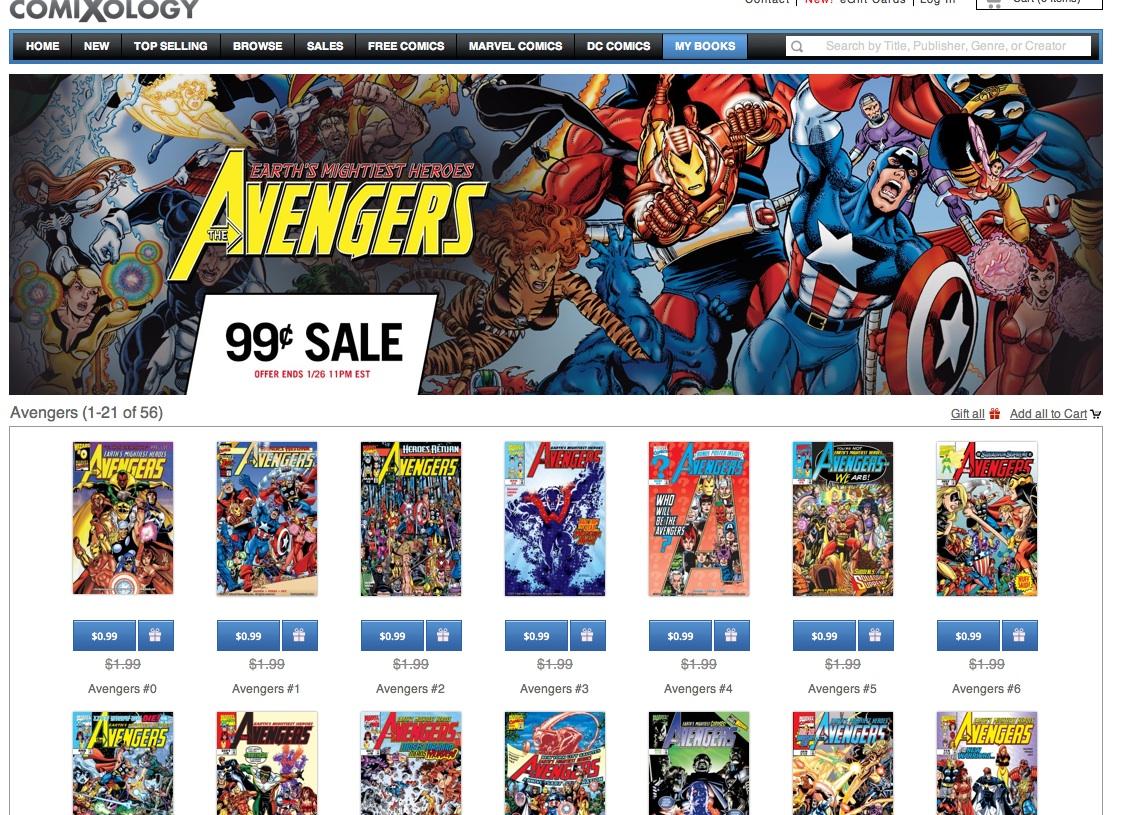 Avengerssale